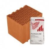 Porotherm 30 Klíma Profi tégla vékonyágyazatú habarccsal