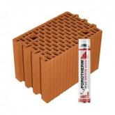 Porotherm 25 Profi tégla Dryfix habbal