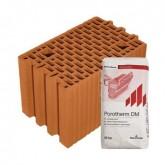 Porotherm 25 Profi tégla vékonyágyazatú habbal