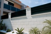 Verniprens Monte kerítés-rendszer sima felülettel