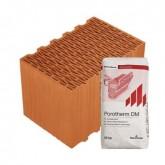 Porotherm 38 Klíma Profi tégla vékonyágyazatú habarccsal