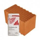 Porotherm 44 Klíma Profi tégla vékonyágyazatú habarccsal